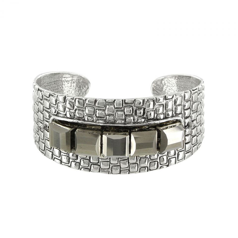 Bracelet Essentiels Argent Gris Taratata Bijoux Fantaisie en ligne 1