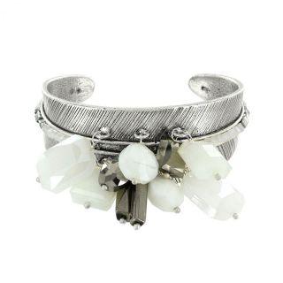 Bracelet Essentiels Argent Blanc