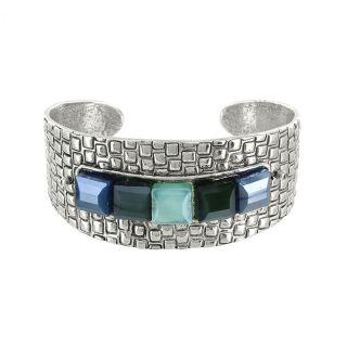 Bracelet Essentiels Argent Bleu