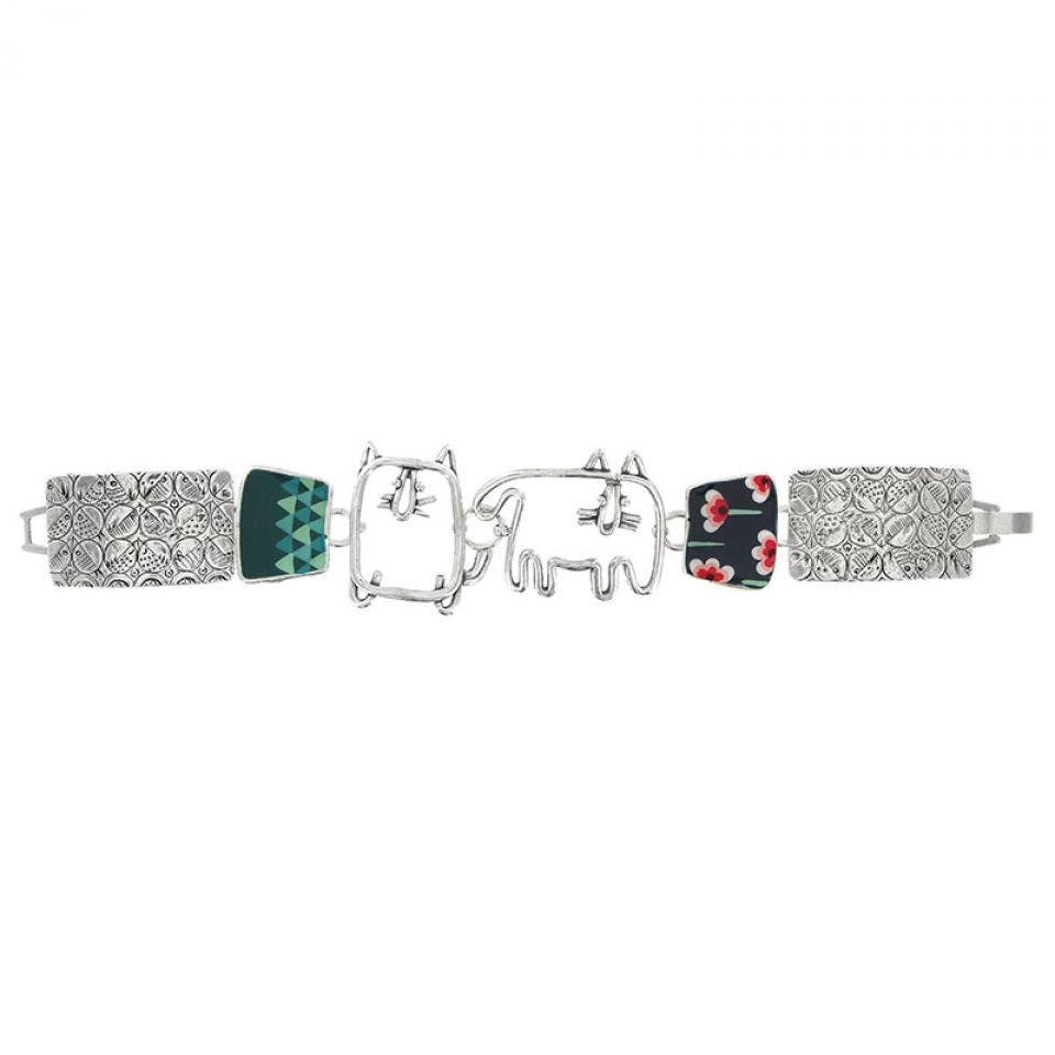 Bracelet Filipendule 2 Argent Multi Taratata Bijoux Fantaisie en ligne 1
