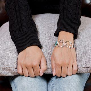 Bracelet Filipendule 2 Argent Multi