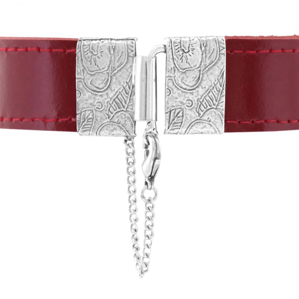 Bracelet Grenadine Argent Rouge Taratata Bijoux Fantaisie en ligne 5