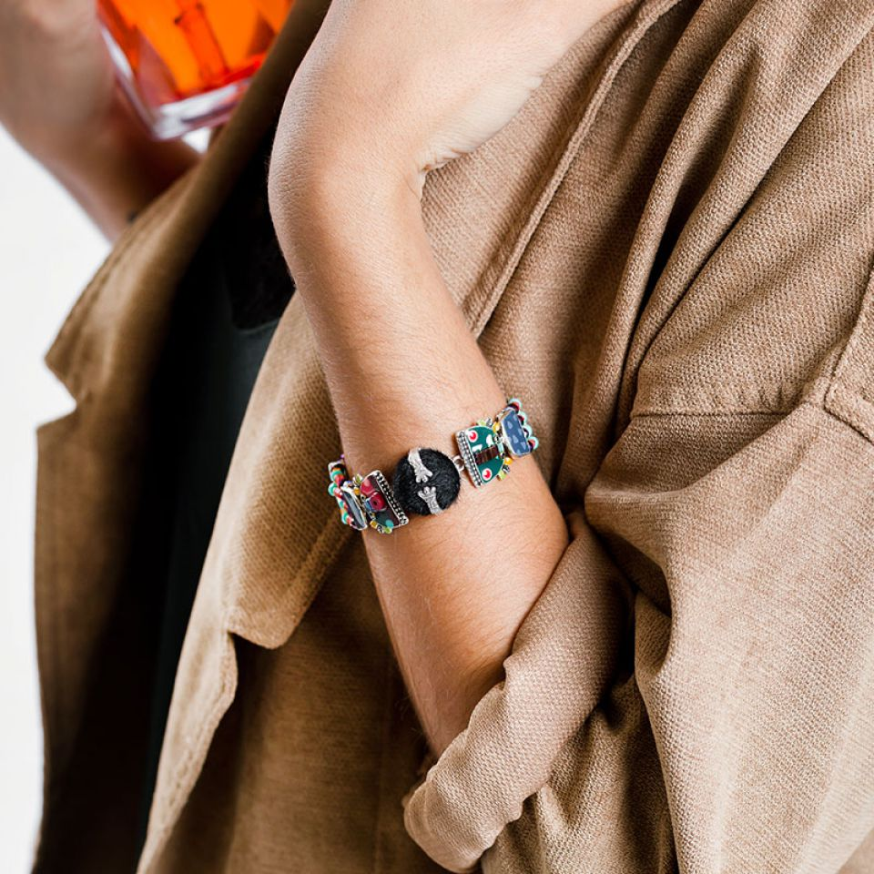 Bracelet Jobard Argent Multi Taratata Bijoux Fantaisie en ligne 2