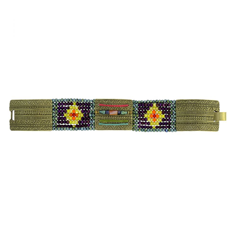 Bracelet Kilim Bronze Multi Taratata Bijoux Fantaisie en ligne 4