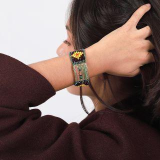 Bracelet Kilim Bronze Multi