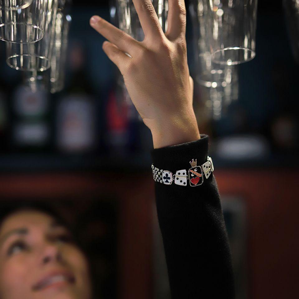 Bracelet L Impasse Argent Multi Taratata Bijoux Fantaisie en ligne 2