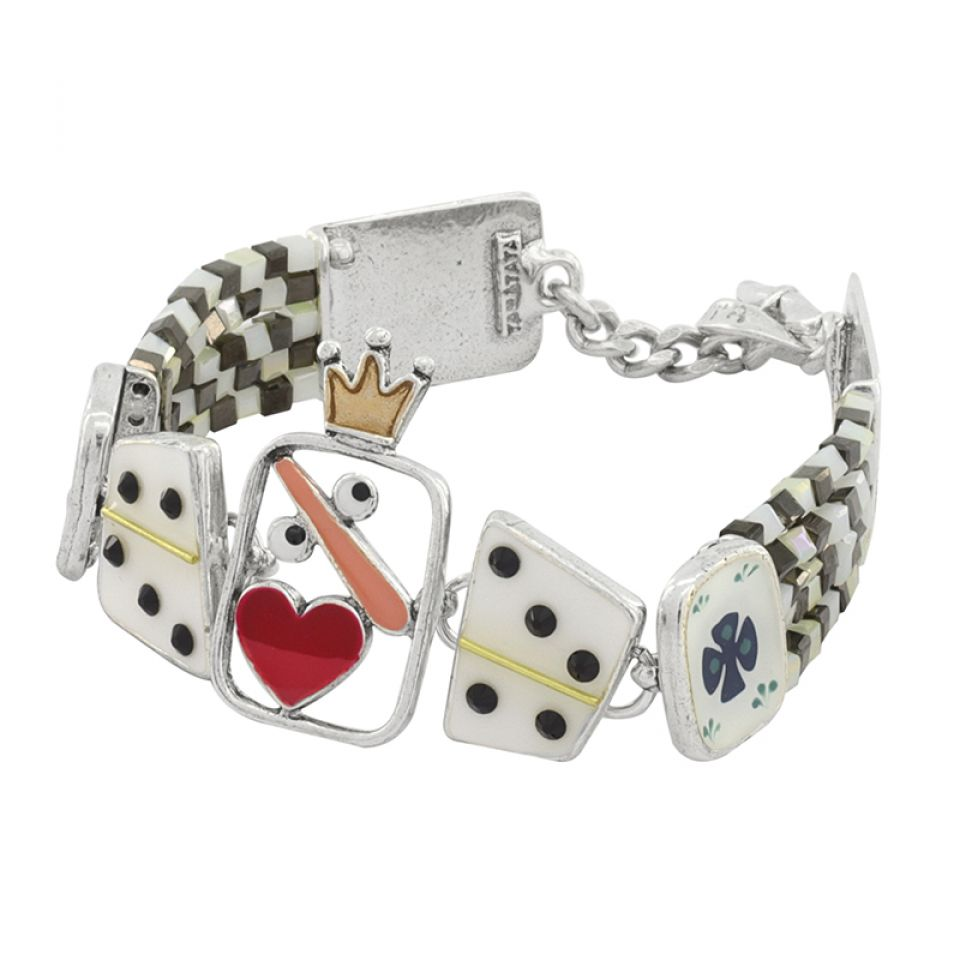 Bracelet L Impasse Argent Multi Taratata Bijoux Fantaisie en ligne 4