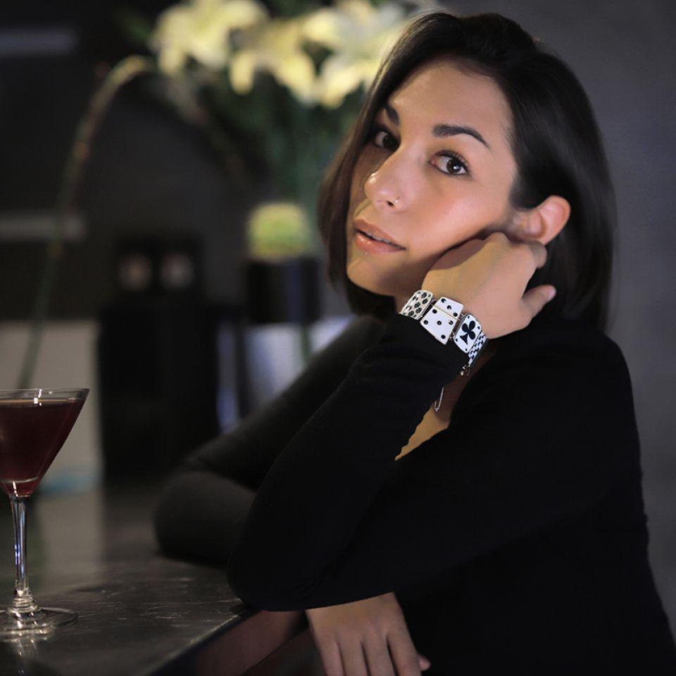 Bracelet L Impasse Argent Blanc Taratata Bijoux Fantaisie en ligne 2
