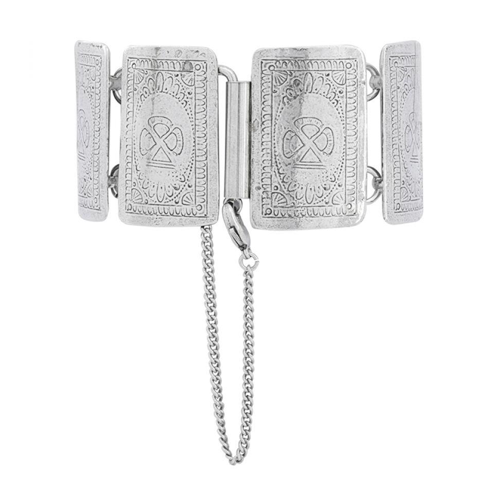 Bracelet L Impasse Argent Blanc Taratata Bijoux Fantaisie en ligne 6