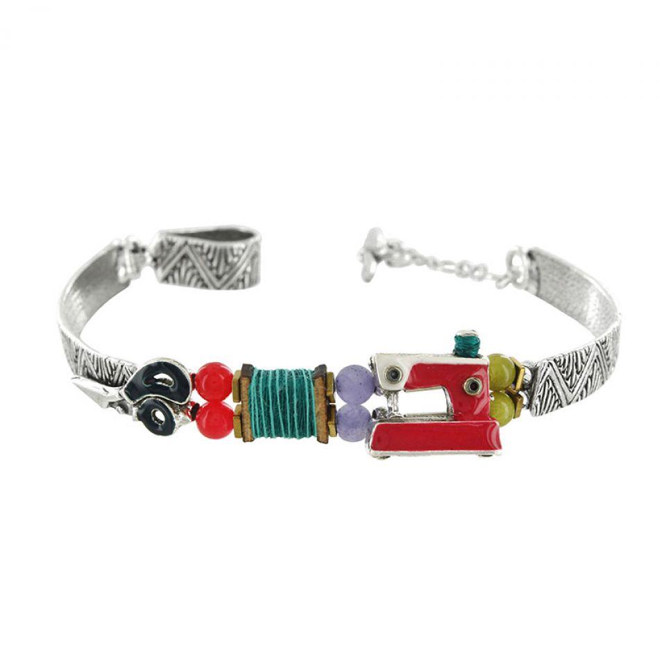Bracelet La Boutonniere Argent Multi Taratata Bijoux Fantaisie en ligne 1