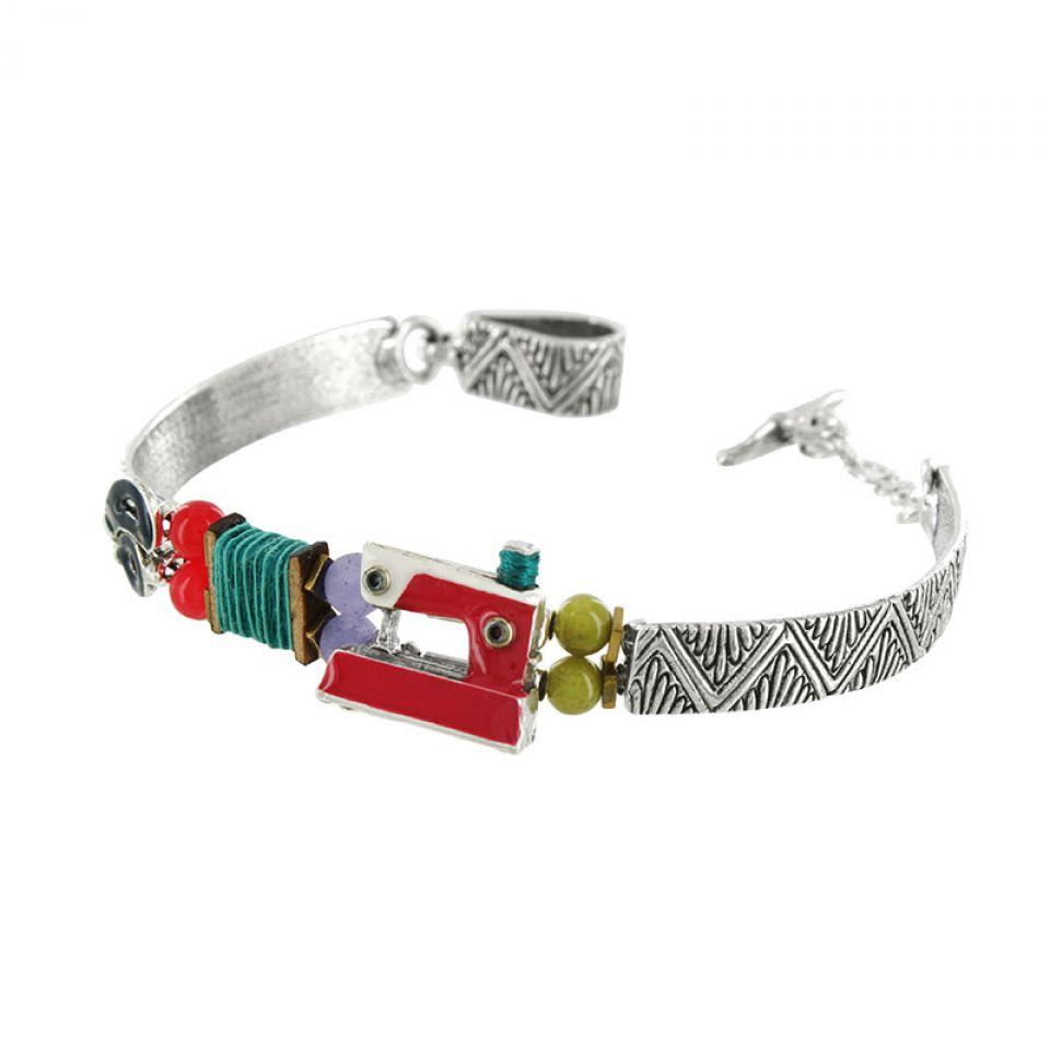 Bracelet La Boutonniere Argent Multi Taratata Bijoux Fantaisie en ligne 3