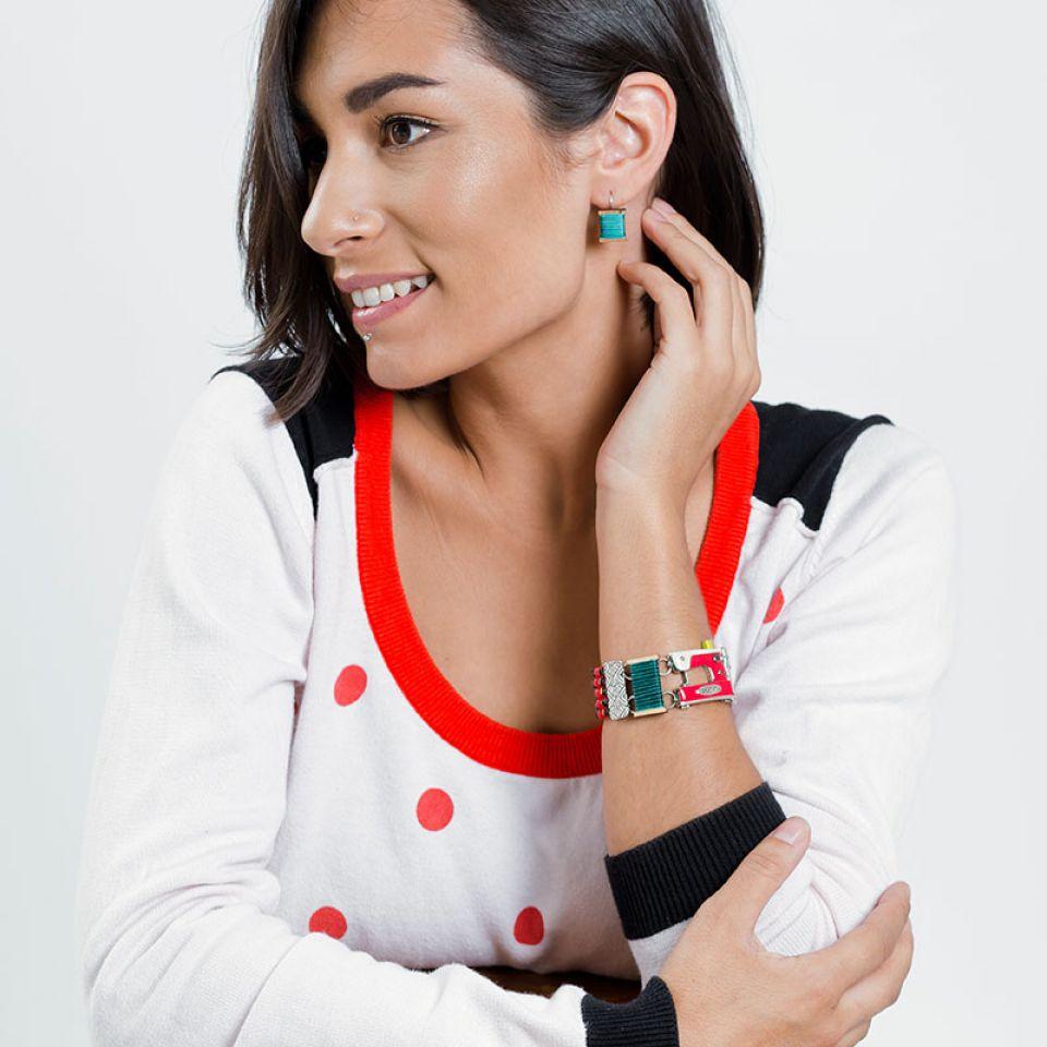 Bracelet La Boutonniere Argent Multi Taratata Bijoux Fantaisie en ligne 2