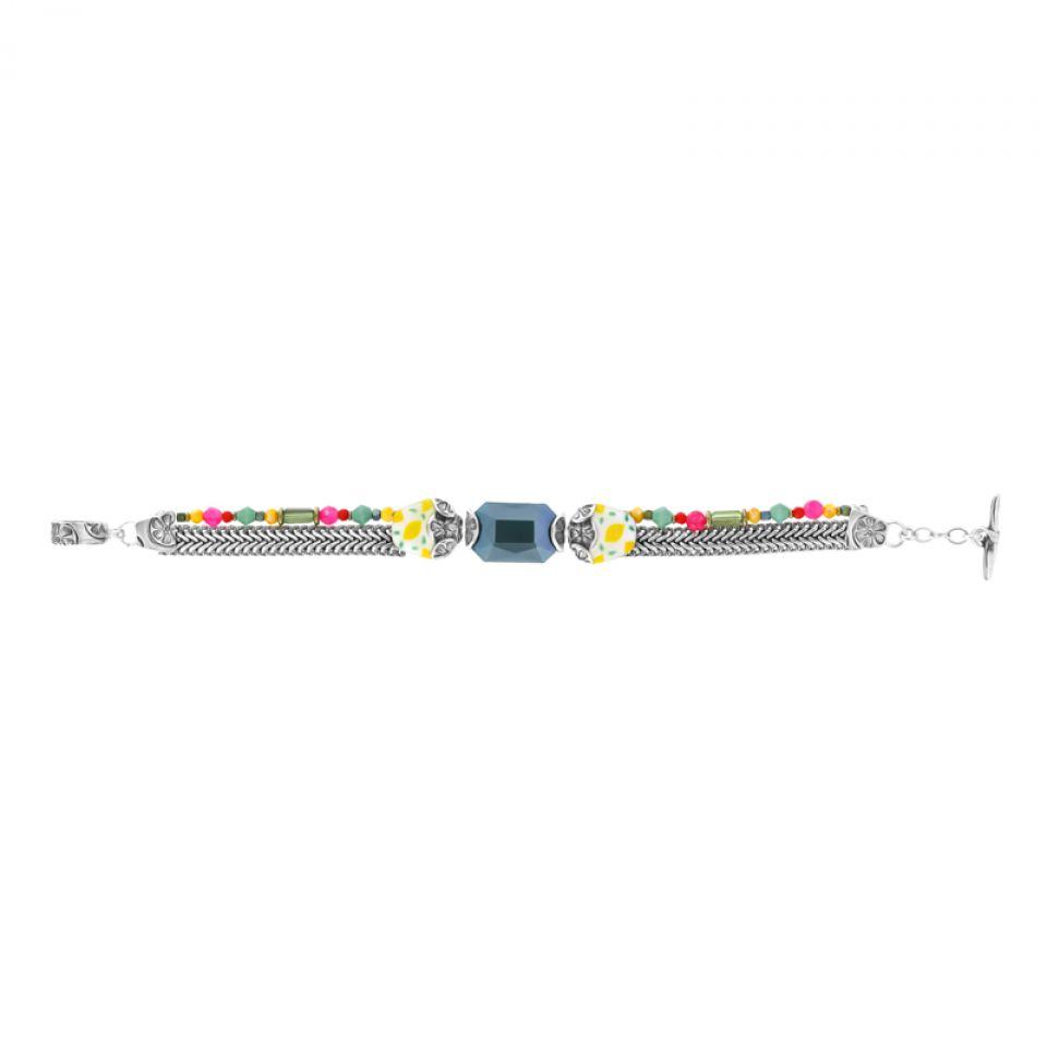 Bracelet Lemon Argent Multi Taratata Bijoux Fantaisie en ligne 3