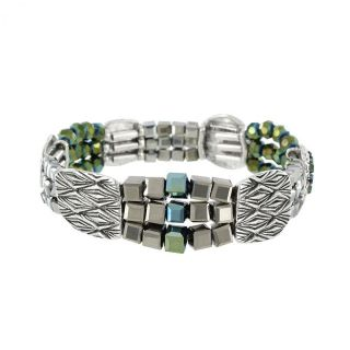 Bracelet Locomotive Argent Multi