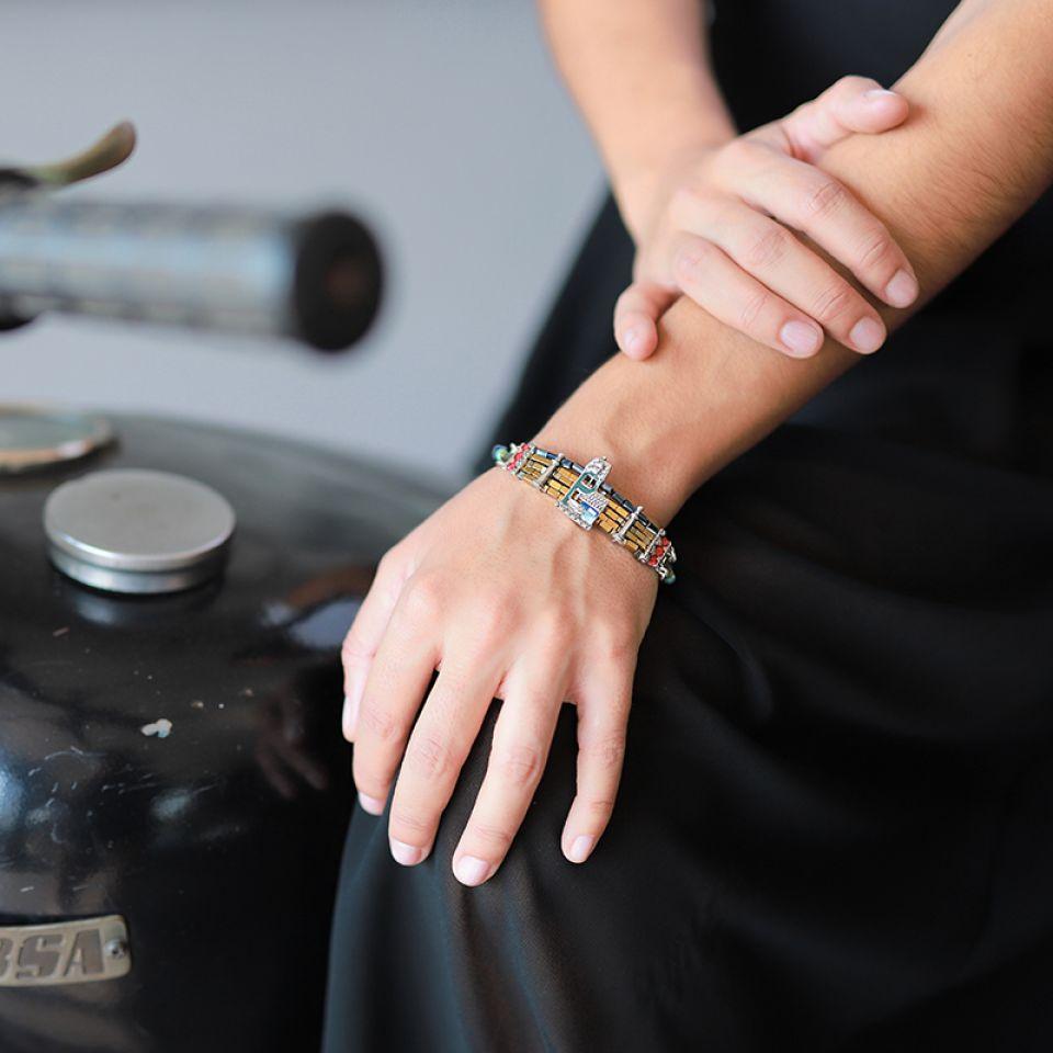 Bracelet Loft Argent Multi Taratata Bijoux Fantaisie en ligne 2