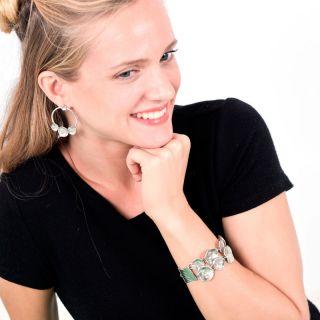 Bracelet Lotus Argent