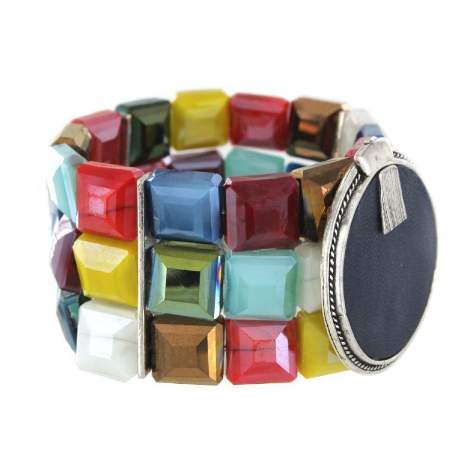 Bracelet Manhattan Argent Multi Taratata Bijoux Fantaisie en ligne 2