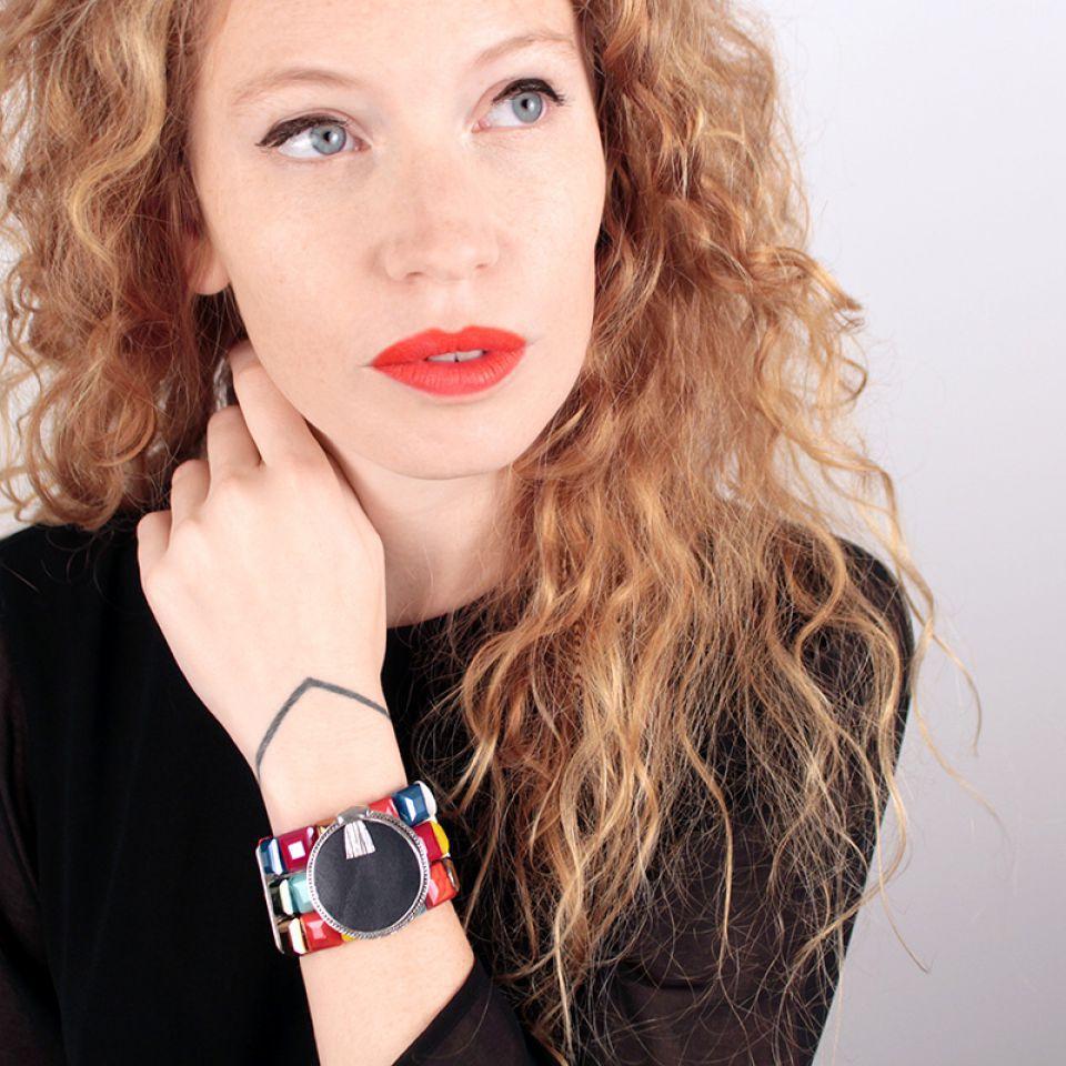 Bracelet Manhattan Argent Multi Taratata Bijoux Fantaisie en ligne 4