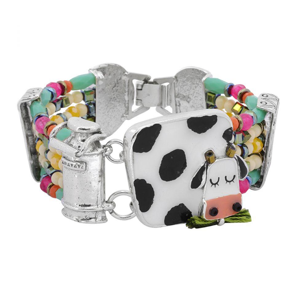 Bracelet Marguerite Argent Multi Taratata Bijoux Fantaisie en ligne 1