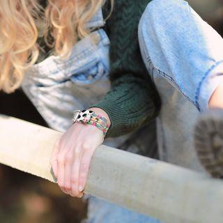 Bracelet Marguerite Argent Multi