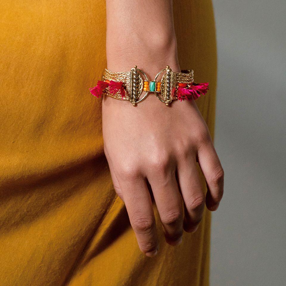 Bracelet Marie-rose Dore Multi Taratata Bijoux Fantaisie en ligne 4
