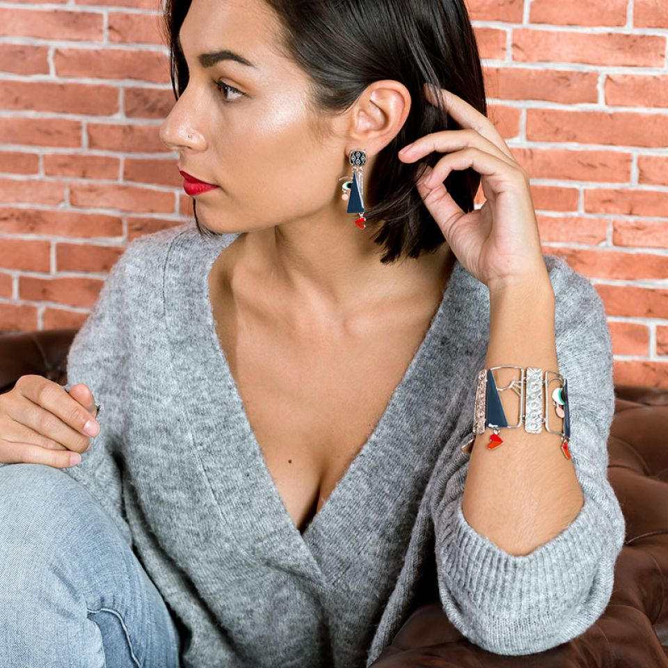 Bracelet Mon Oeil Argent Multi Taratata Bijoux Fantaisie en ligne 2