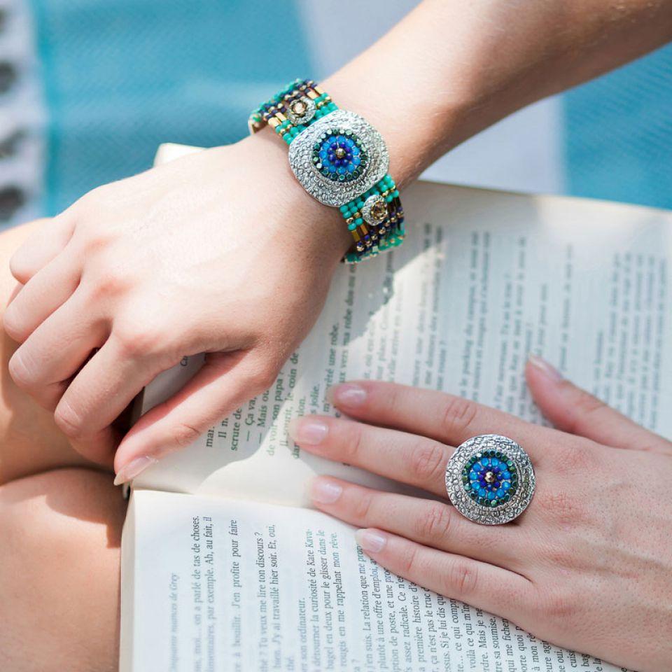 Bracelet Montmartre Argent Multi Taratata Bijoux Fantaisie en ligne 2
