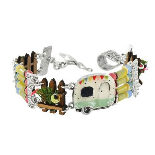 Bracelet Nationale 7 Argent Multi