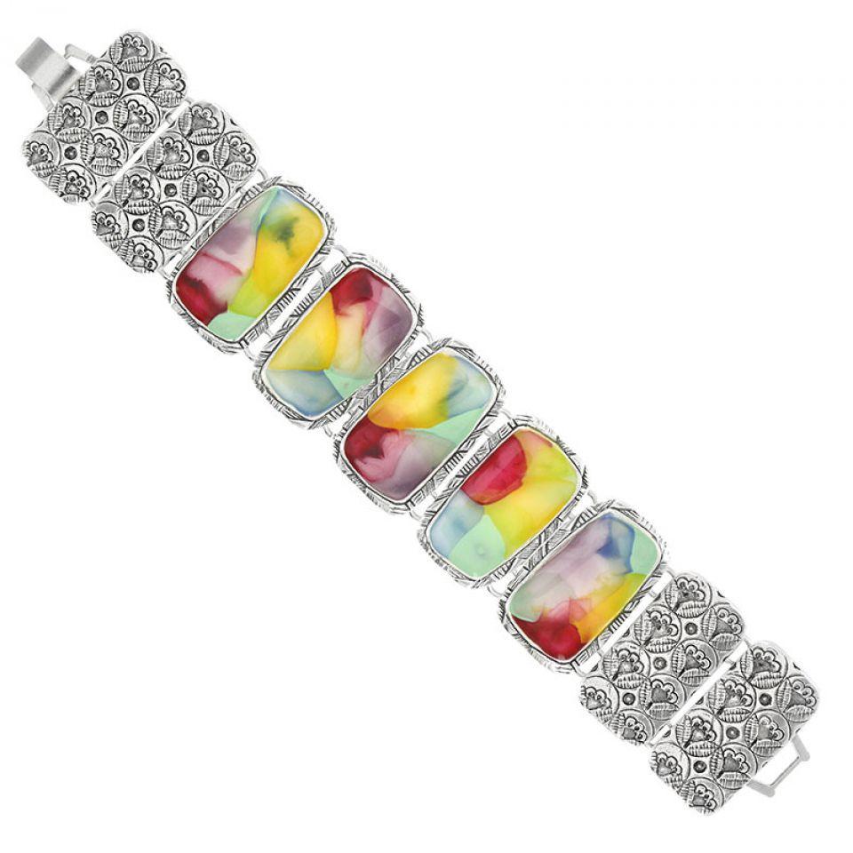 Bracelet Nuages Argent Multi Taratata Bijoux Fantaisie en ligne 3