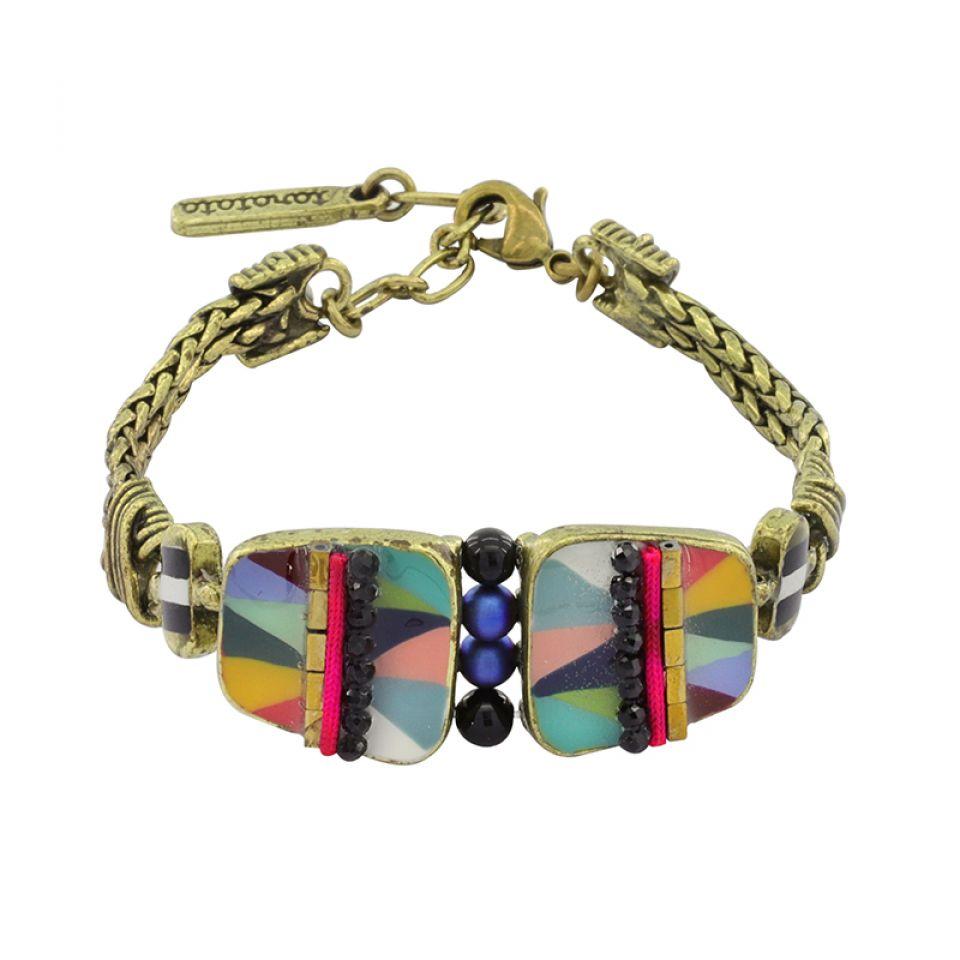 Bracelet Nuances Bronze Multi Taratata Bijoux Fantaisie en ligne 1