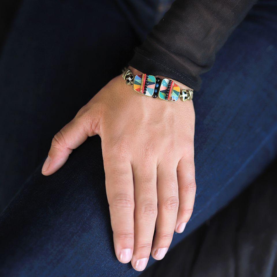 Bracelet Nuances Bronze Multi Taratata Bijoux Fantaisie en ligne 2