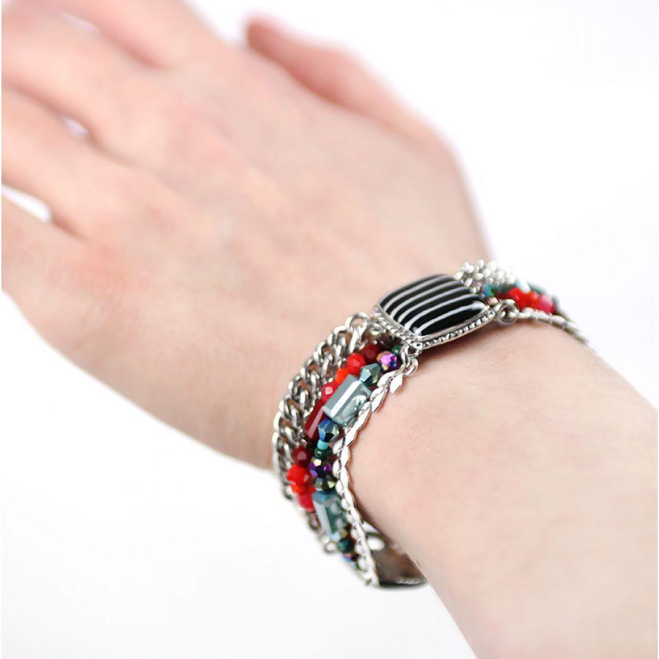 Bracelet Panam Argent Multi Taratata Bijoux Fantaisie en ligne 2
