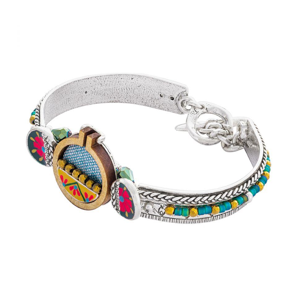 Bracelet Petit Point Argente Multi Taratata Bijoux Fantaisie en ligne 1