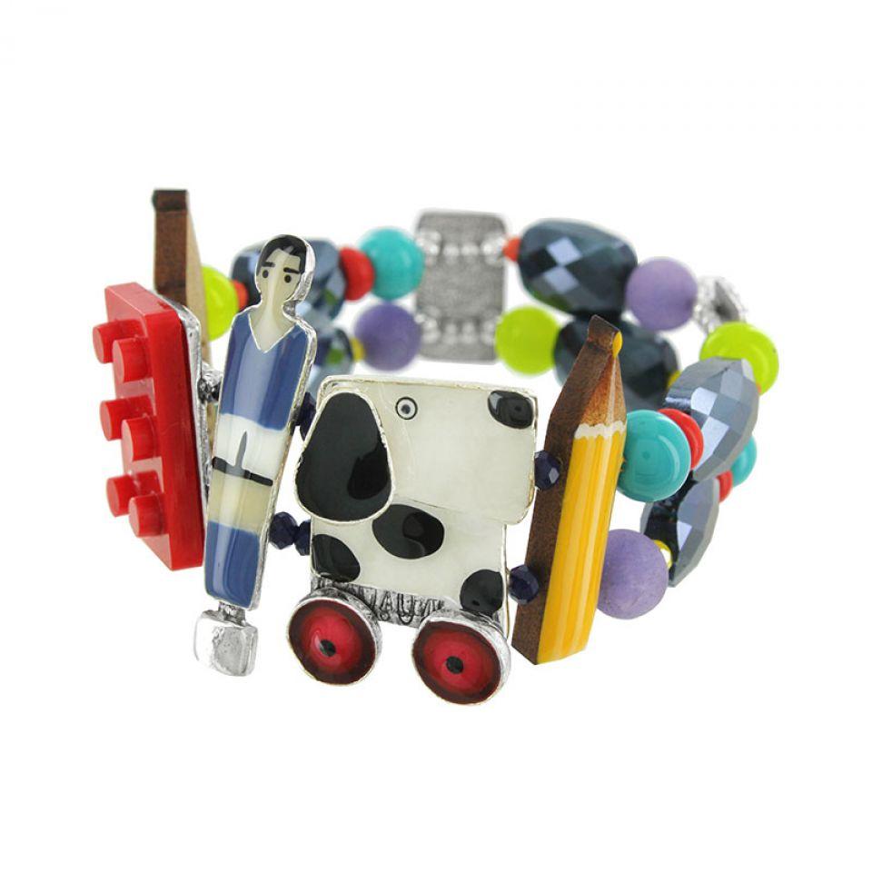 Bracelet Play Again Argent Multi Taratata Bijoux Fantaisie en ligne 3