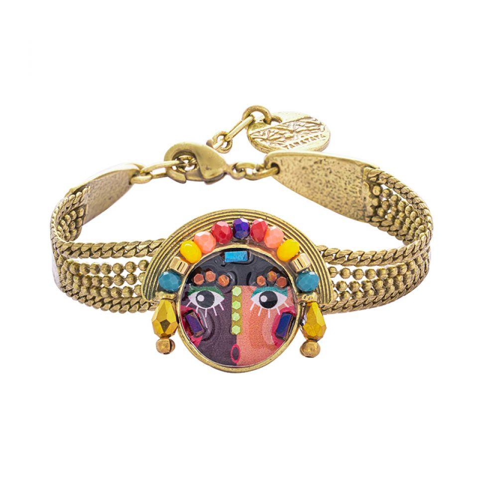 Bracelet Pleine Lune Bronze Multi Taratata Bijoux Fantaisie en ligne 3