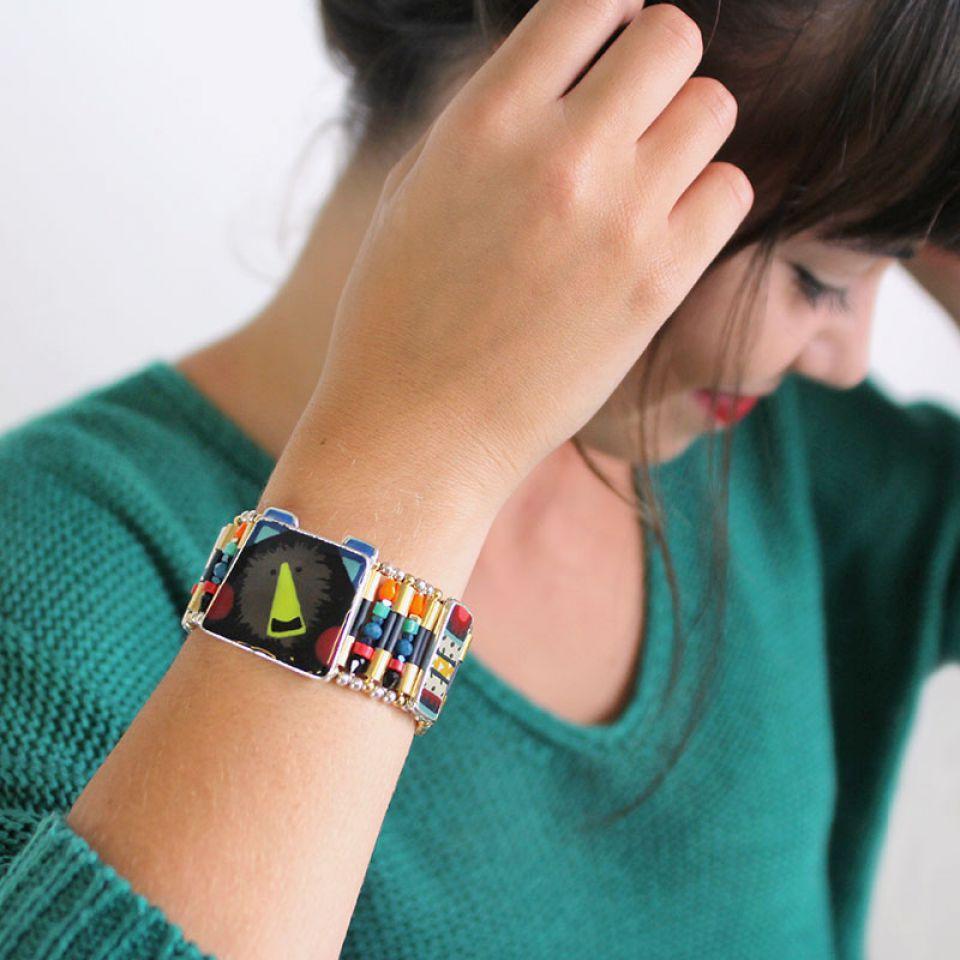 Bracelet Polka Argent Multi Taratata Bijoux Fantaisie en ligne 1