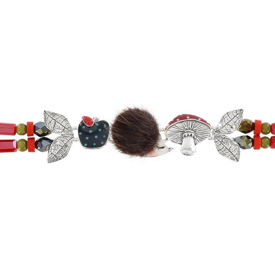 Bracelet Qui S Y Frotte Argent Multi Taratata Bijoux Fantaisie en ligne 3