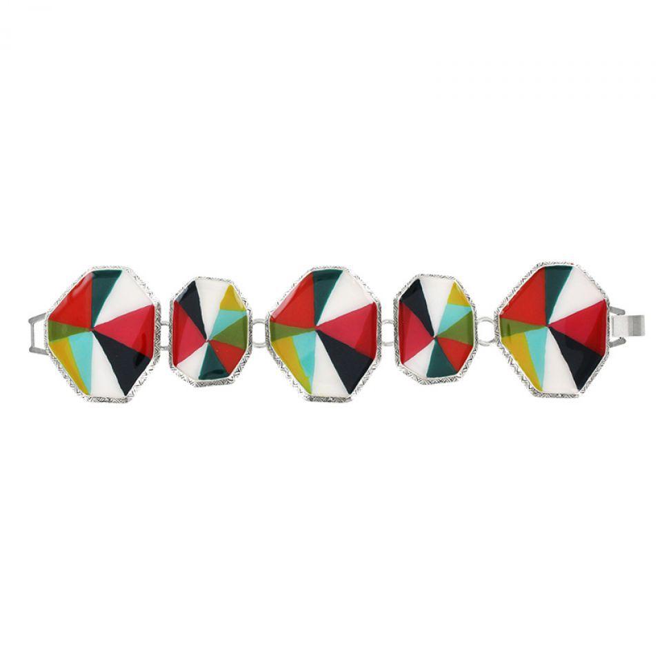 Bracelet Rainbow Argent Multi Taratata Bijoux Fantaisie en ligne 1