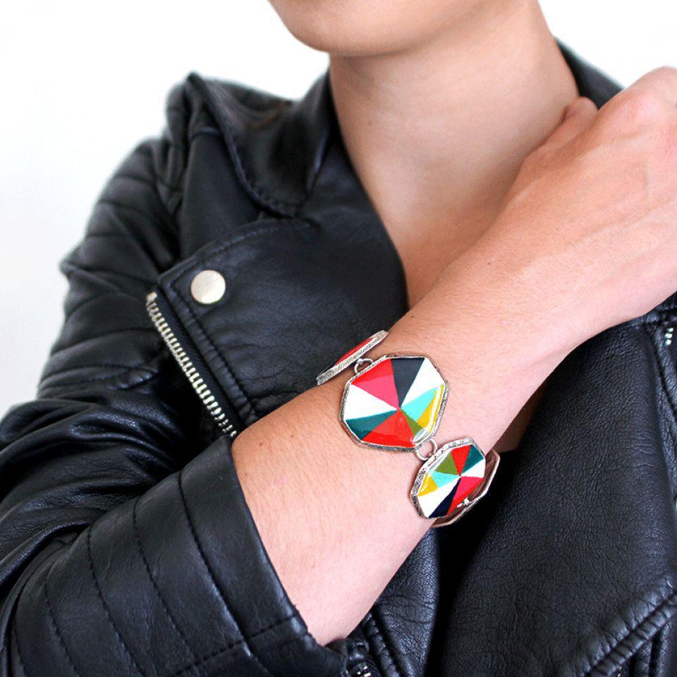 Bracelet Rainbow Argent Multi Taratata Bijoux Fantaisie en ligne 3