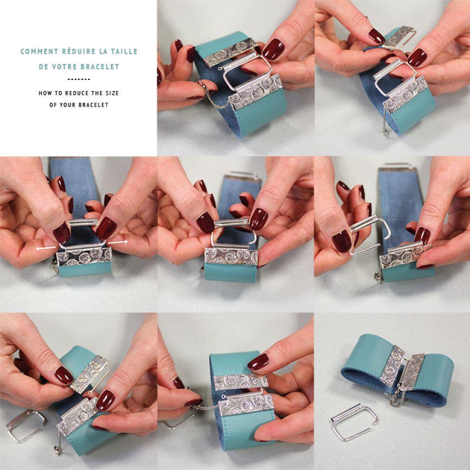 Bracelet Ravissante Argent Rouge Taratata Bijoux Fantaisie en ligne 7