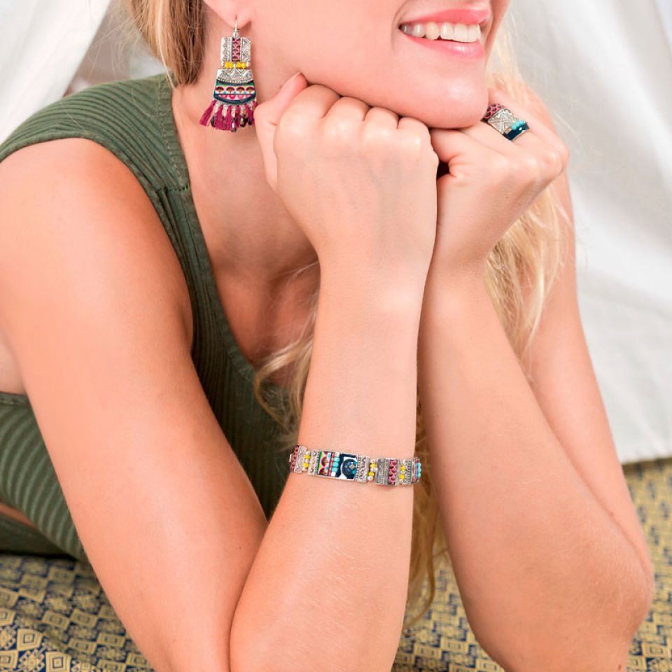 Bracelet Reglisse Argent Multi Taratata Bijoux Fantaisie en ligne 2