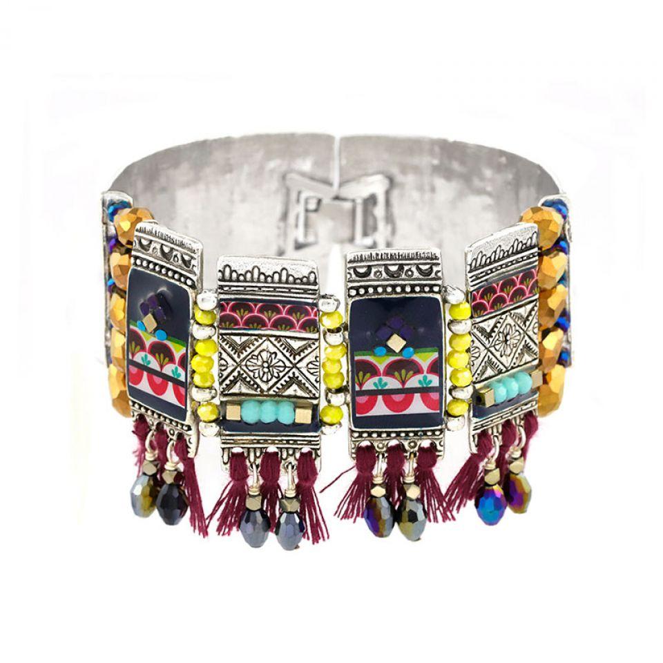 Bracelet Reglisse Argent Multi Taratata Bijoux Fantaisie en ligne 1