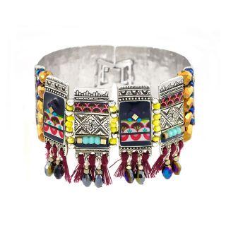 Bracelet Reglisse Argent Multi