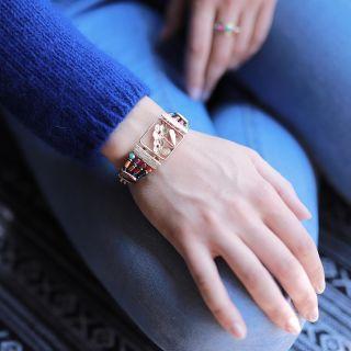 Bracelet Revolution Dore Multi