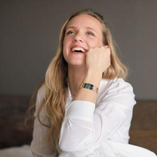 Bracelet Romeo Dore Bleu