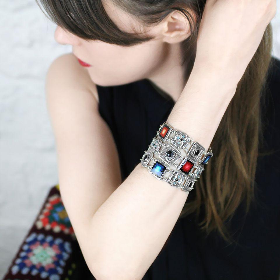 Bracelet Sevres  Argent Multi Taratata Bijoux Fantaisie en ligne 1