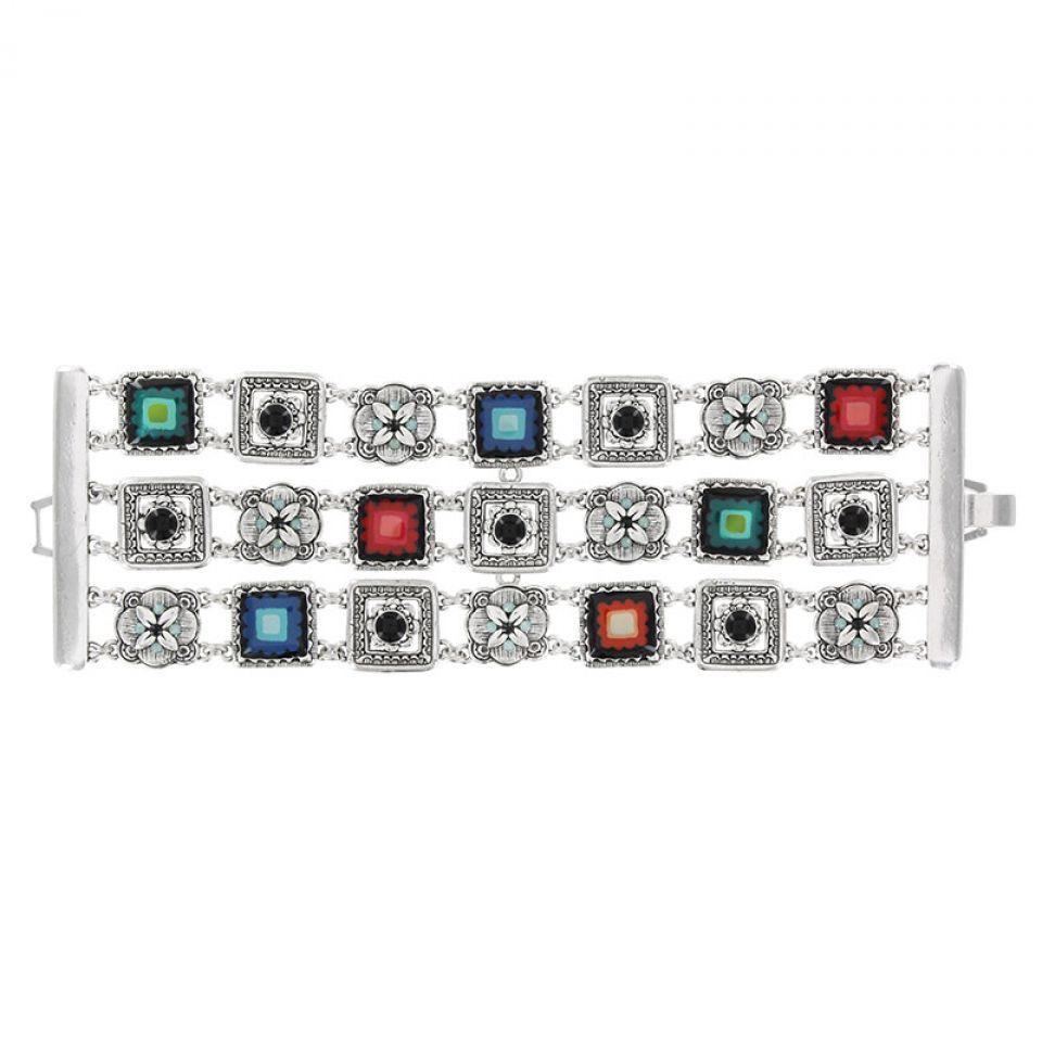 Bracelet Sevres  Argent Multi Taratata Bijoux Fantaisie en ligne 2