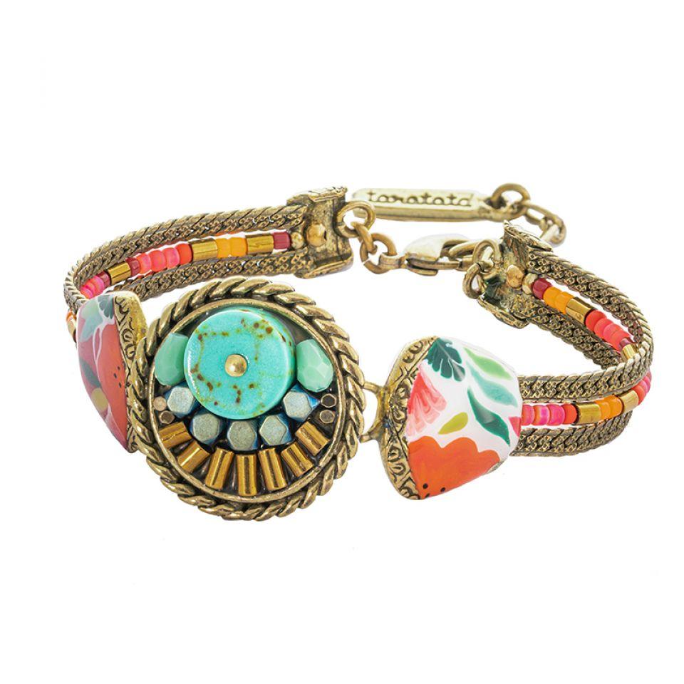Bracelet Sombrero Bronze Multi Taratata Bijoux Fantaisie en ligne 3
