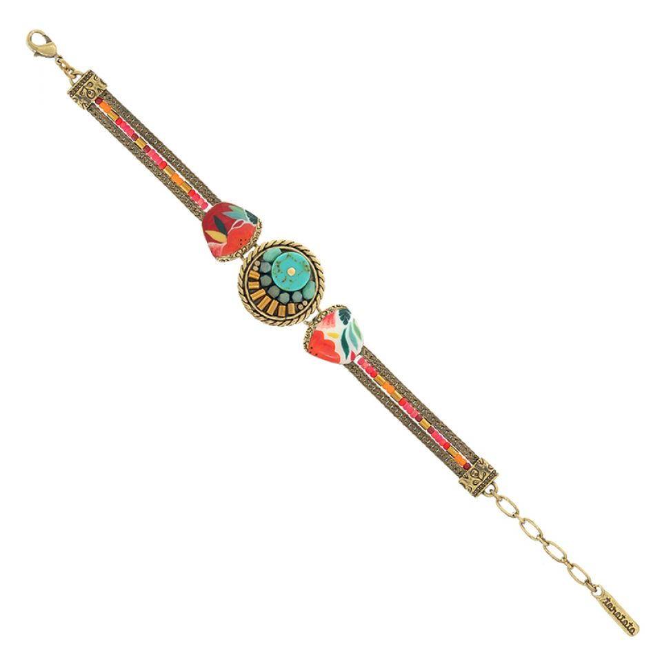 Bracelet Sombrero Bronze Multi Taratata Bijoux Fantaisie en ligne 4