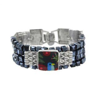 Bracelet Tahiti Argent Multi